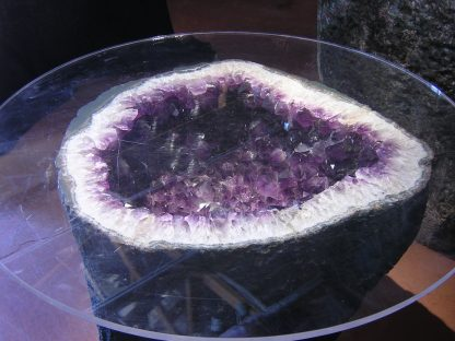 Brazilian Amethyst Geode Table