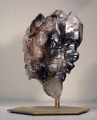 Elestial Smoky Quartz Crystal